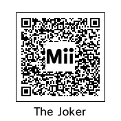 The Joker QR
