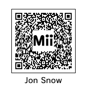 Jon Snow QR